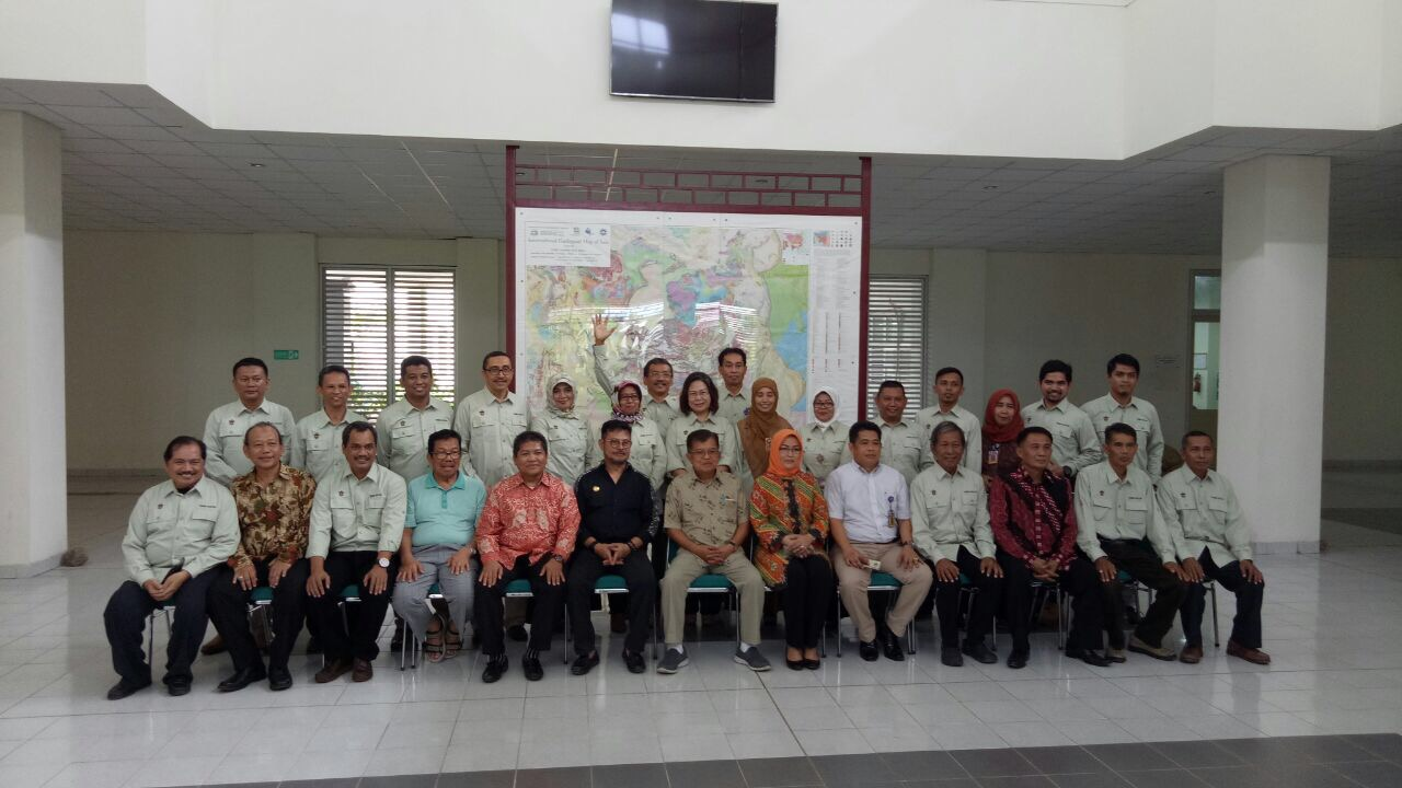 Indonesian Vice president Jusuf Kalla has visited the Geological Engineering Department Campus